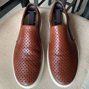 Ecco Soft 7 Slip-on Perforated Leather US 8 EU 42